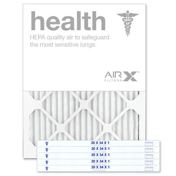 20x34x1 AIRx HEALTH Air Filter - MERV 13