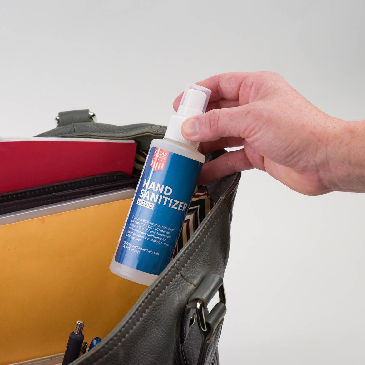ClearChoice Liquid Hand Sanitizer - 4 oz Spray Bottle