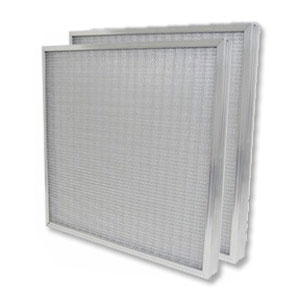 "Heavy Duty 10"" X 20"" X 2"" Aluminum Mesh Washable Air Filter"