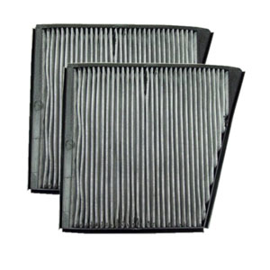 MB02136C micronAir Carbon Cabin Air Filter, 2-Pack