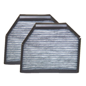 MB02153C micronAir Carbon Cabin Air Filter, 2-Pack