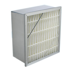 Extended Surface Rigid Air Filter With Header - 24