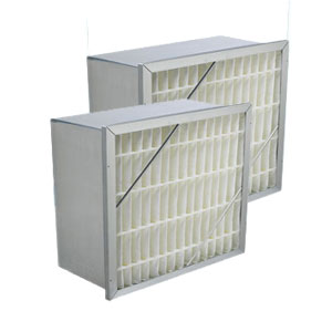 Extended Surface Rigid Air Filter With Header - 12
