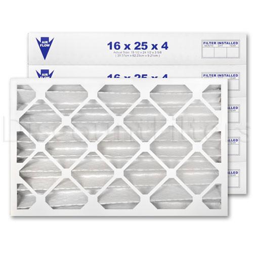 """16"""" X 25"""" X 4"""" MERV 11 Pleated Filter"""