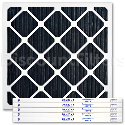 20 X 20 X 1 Odor Reduction Carbon Pleated Filter