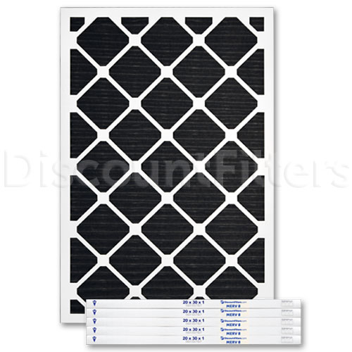 20 X 30 X 1 Odor Reduction Carbon Pleated Filter