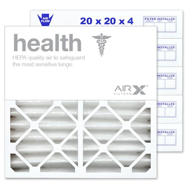 20x20x4 AIRx ALLERGY Air Filter - MERV 11 2-Pack