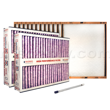 Abatement Technologies PAK100-UVP Filter/Bulb Yearly Kit