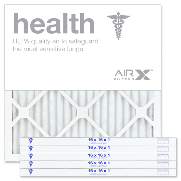 16x16x1 AIRx HEALTH Air Filter - MERV 13