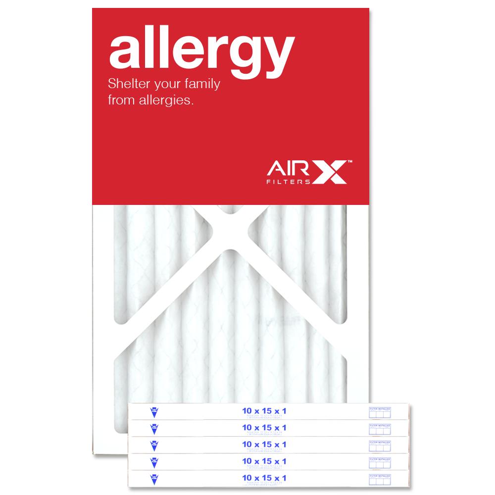 10x15x1 AIRx ALLERGY Air Filter - MERV 11