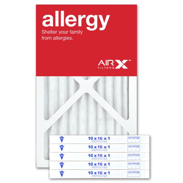 10x16x1 AIRx ALLERGY Air Filter - MERV 11