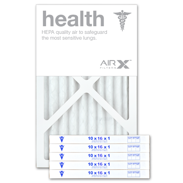 10x16x1 AIRx HEALTH Air Filter - MERV 13