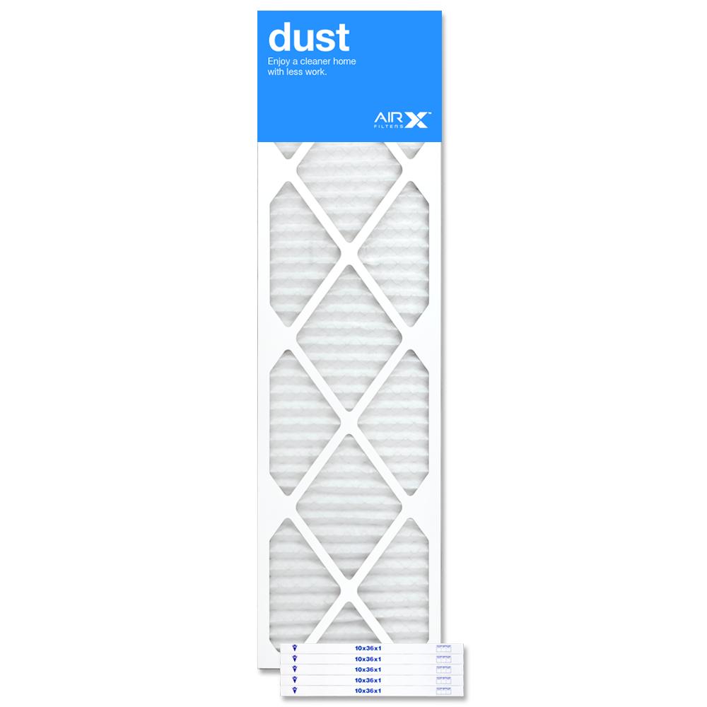 10x36x1 AIRx DUST Air Filter - MERV 8