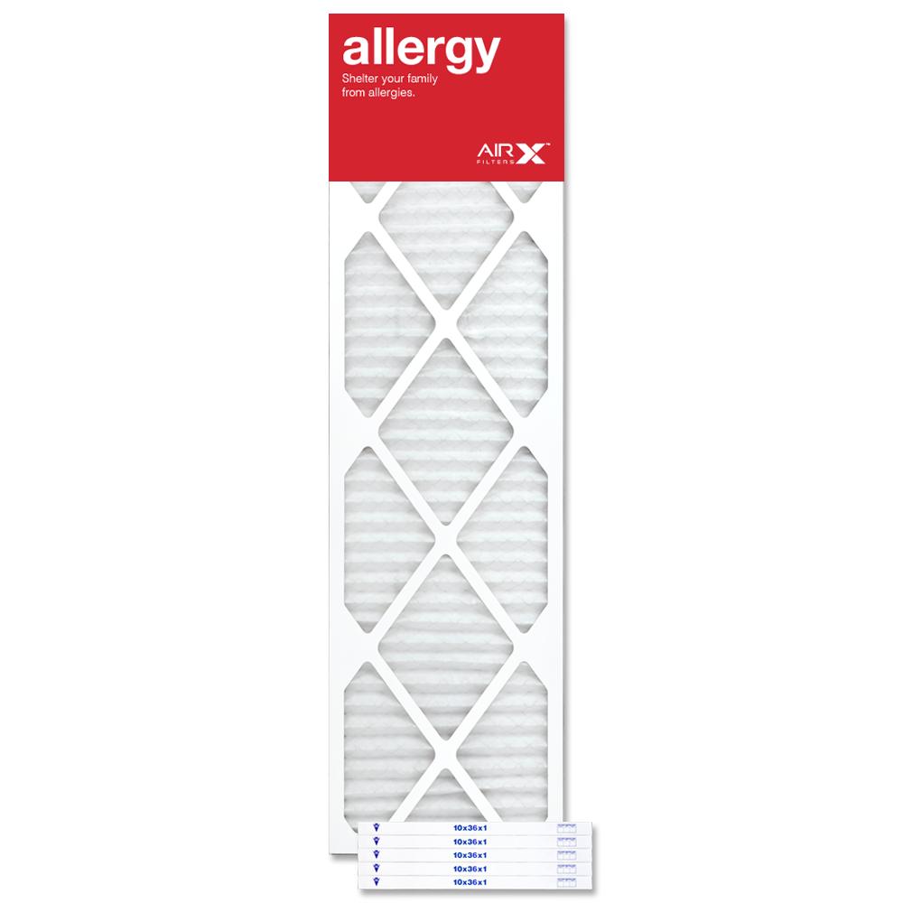 10x36x1 AIRx ALLERGY Air Filter - MERV 11