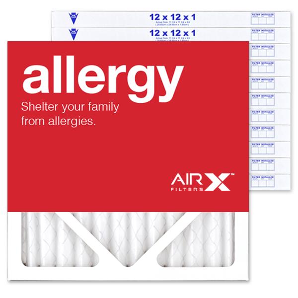 12x12x1 AIRx ALLERGY Air Filters - MERV 11