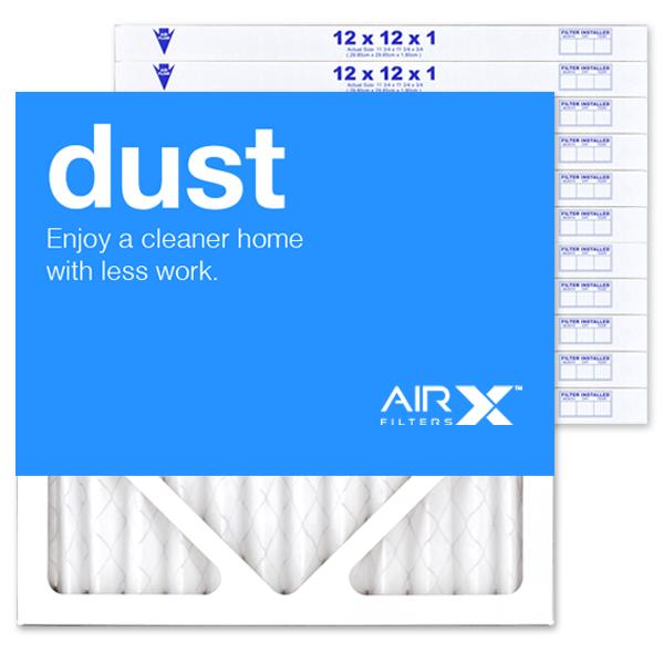 12x12x1 AIRx DUST Air Filter - MERV 8