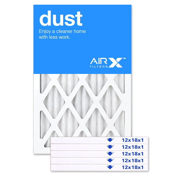 12x18x1 AIRx DUST Air Filter - MERV 8