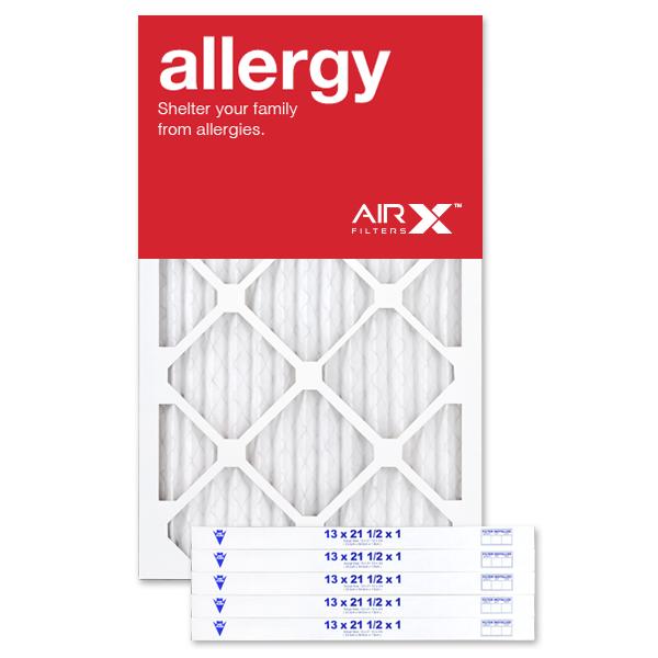 13x21.5x1 AIRx ALLERGY Air Filter - MERV 11