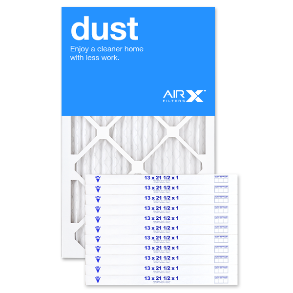 13x21.5x1 AIRx DUST Air Filter - MERV 8