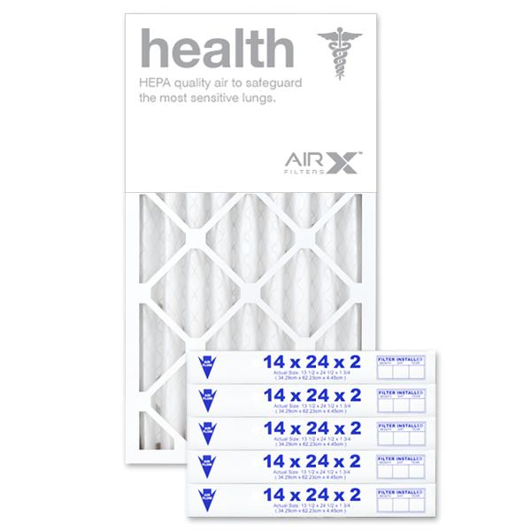 14x24x2 AIRx HEALTH Air Filter - MERV 13