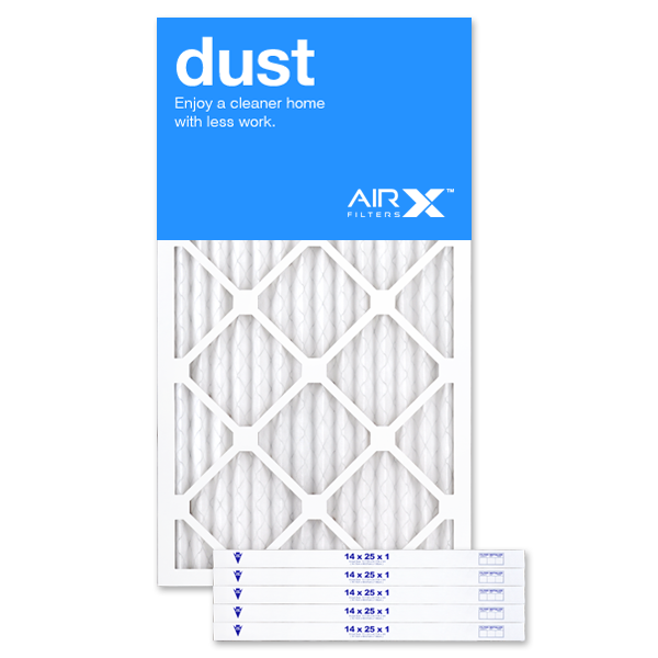 14x25x1 AIRx DUST Air Filter - MERV 8