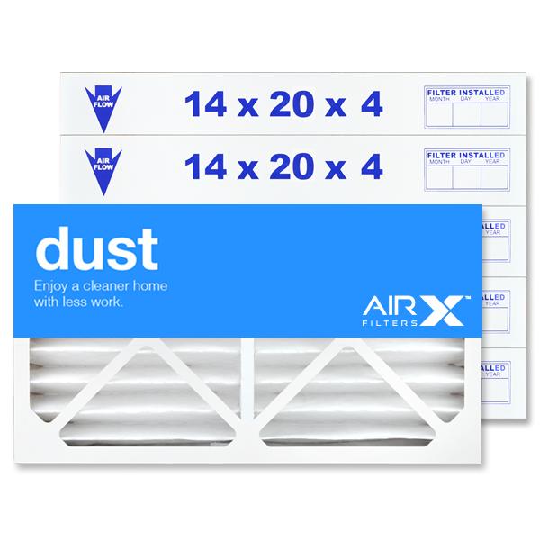 14x20x4 AIRx DUST Air Filter - MERV 8