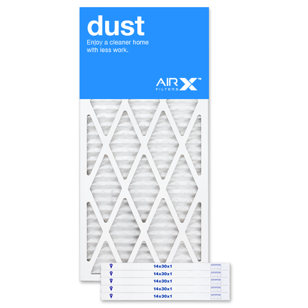 14x30x1 AIRx DUST Air Filter - MERV 8