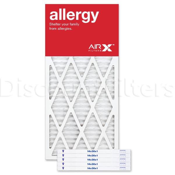 14x30x1 AIRx ALLERGY Air Filter - MERV 11