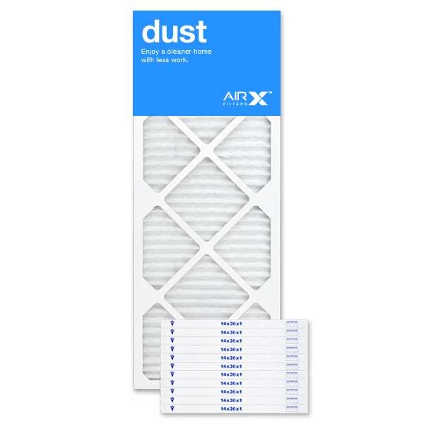 14x36x1 AIRx DUST Air Filter - MERV 8