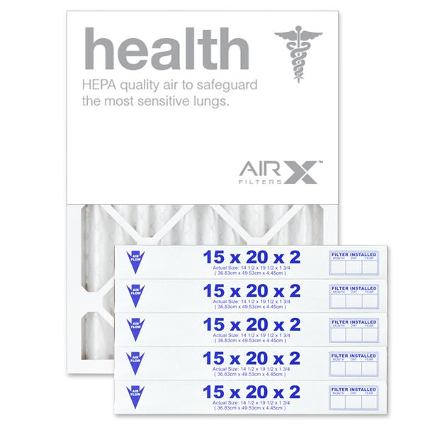 15x20x2 AIRx HEALTH Air Filter - MERV 13
