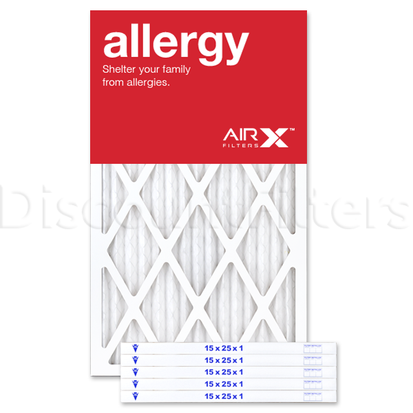 15x25x1 AIRx ALLERGY Air Filter - MERV 11