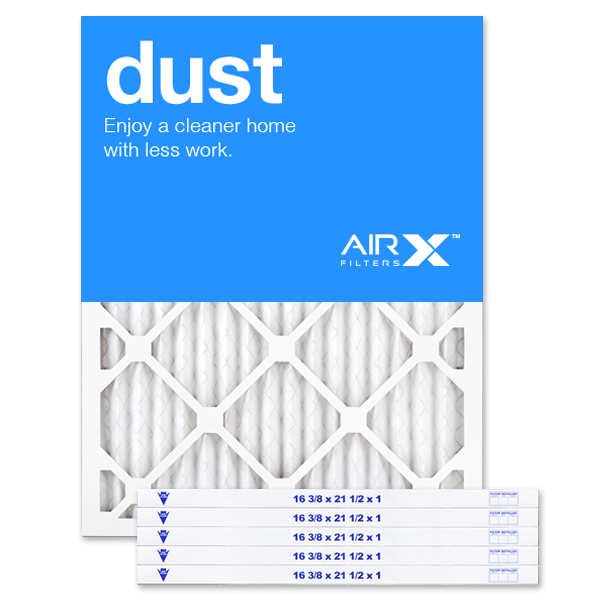 16.375x21.5x1 AIRx DUST Air Filter - MERV 8
