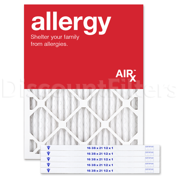 MERV 11 Replacement for Bryant/Carrier Filter-16.5x21.5x1- Allergy Reduction