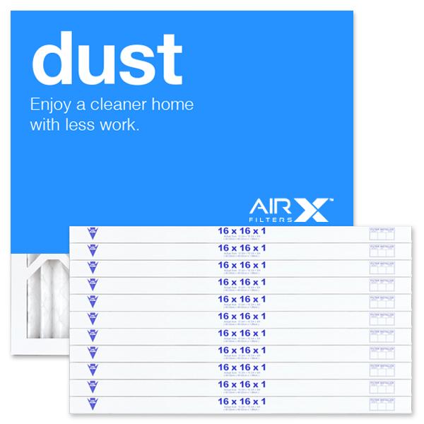 16x16x1 AIRx DUST Air Filter - MERV 8