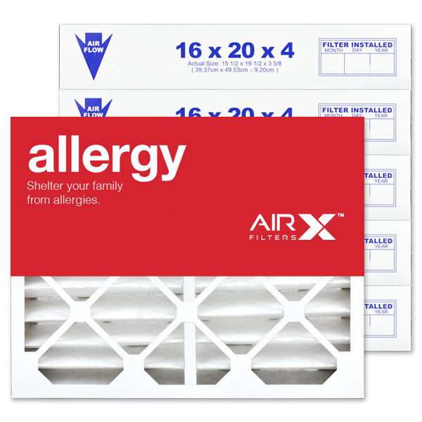 16x20x4 AIRx ALLERGY Air Filter - MERV 11