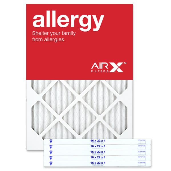 16x22x1 AIRx ALLERGY Air Filter - MERV 11