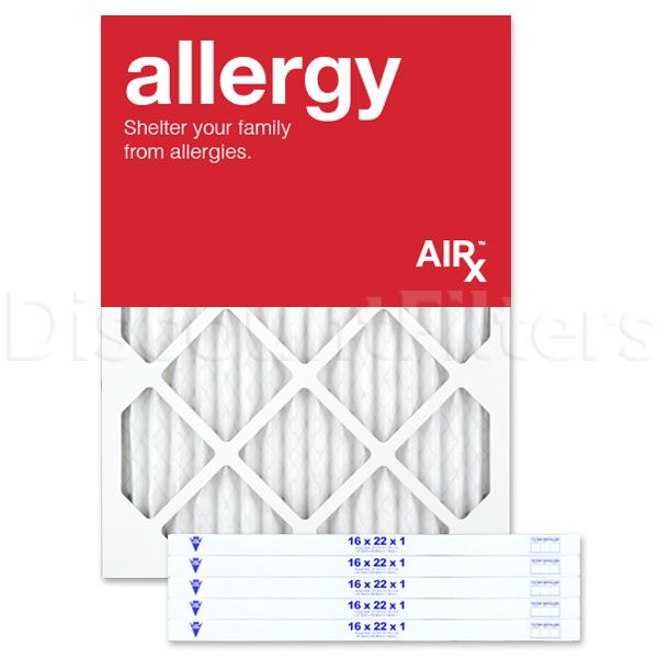 "16 x 22 x 1"" MERV 11 Pleated Filter- Allergy Reduction"