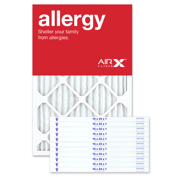 16x24x1 AIRx ALLERGY Air Filter - MERV 11