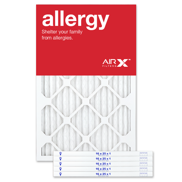 AiRx Allergy 16x25x1 MERV 11 Pleated Filter