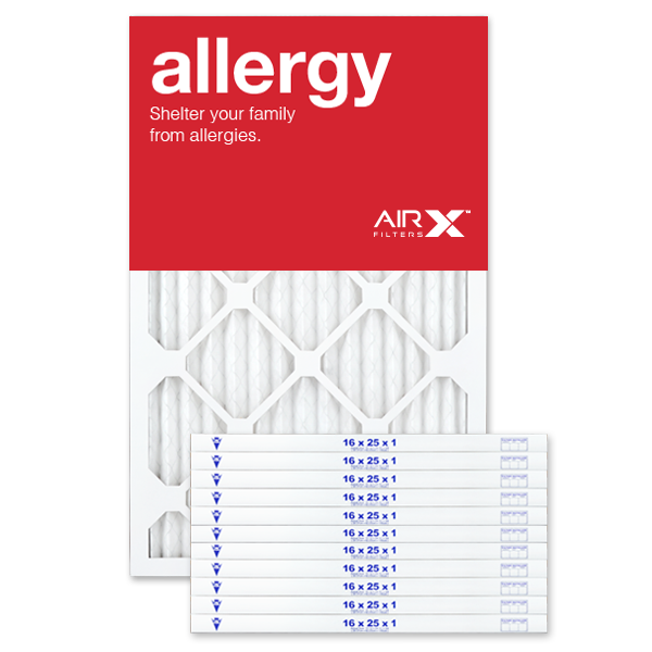 16x25x1 AIRx ALLERGY Air Filter - MERV 11