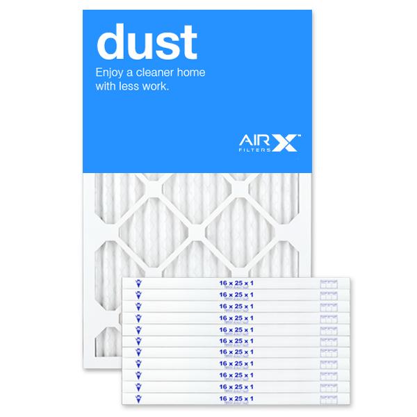 16x25x1 AIRx DUST Air Filter - MERV 8