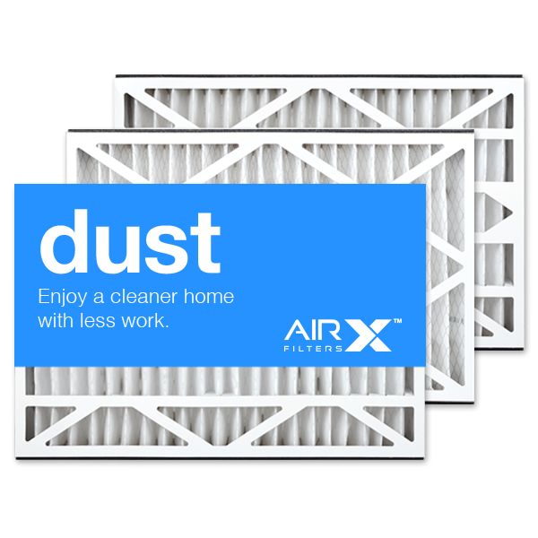 16x25x3 AIRx DUST Replacement for Lennox X0581 Air Filter - MERV 8, 3-Pack