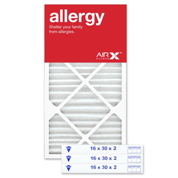 16x30x2 AIRx ALLERGY Air Filter - MERV 11