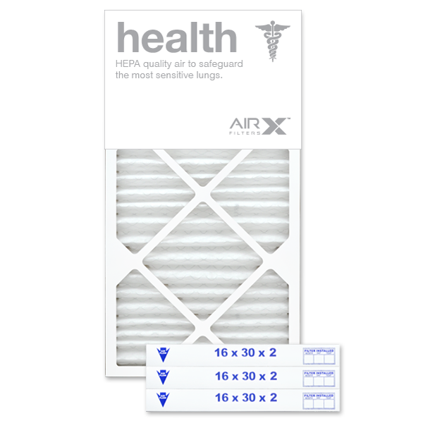 16x30x2 AIRx HEALTH Air Filter - MERV 13