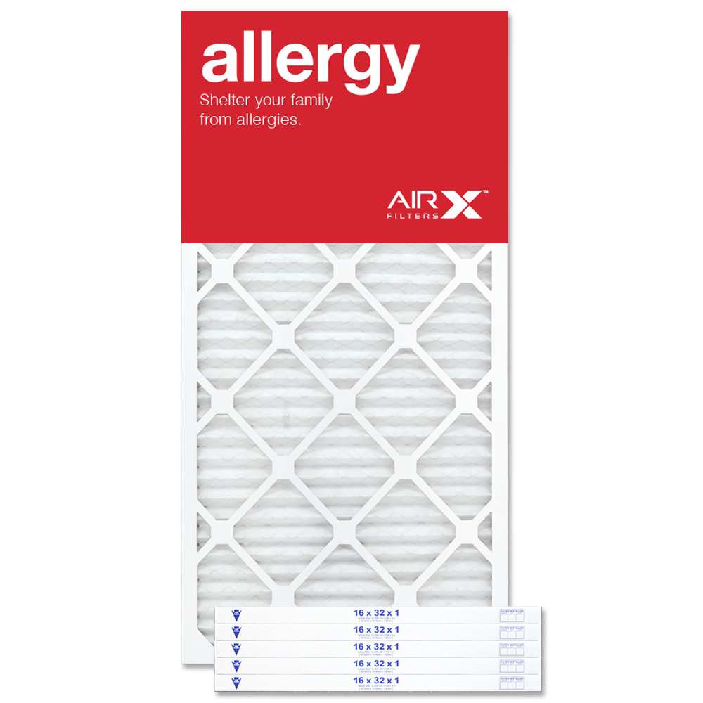 16x32x1 AIRx ALLERGY Air Filter - MERV 11