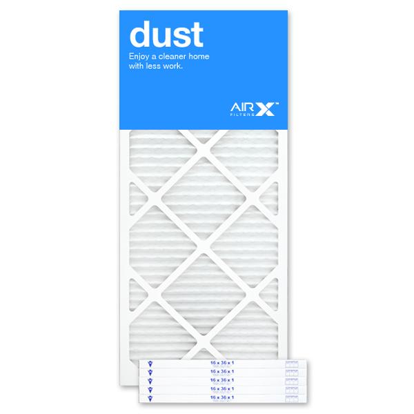 16x36x1 AIRx DUST Air Filter - MERV 8