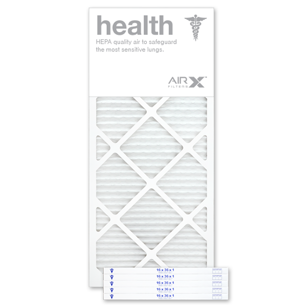 16x36x1 AIRx HEALTH Air Filter - MERV 13