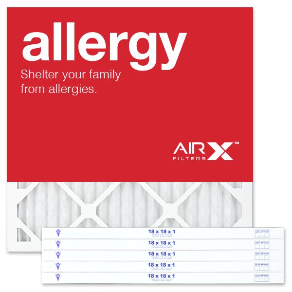 18x18x1 AIRx ALLERGY Air Filter - MERV 11