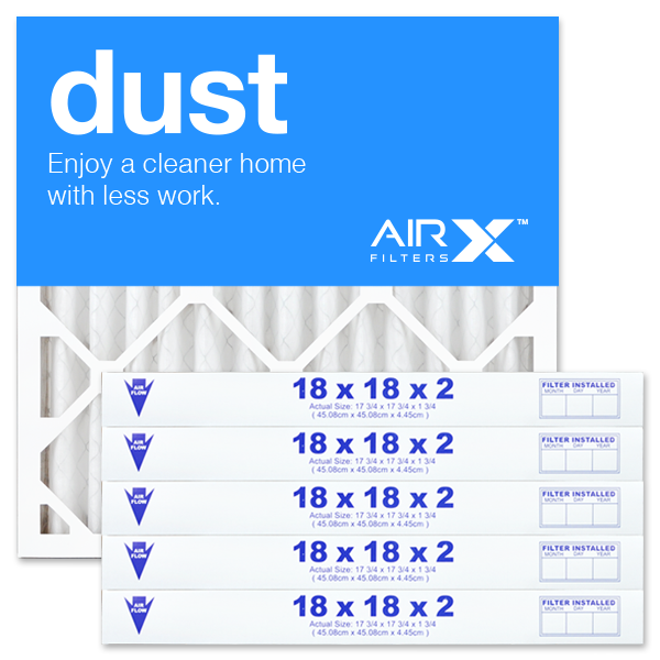 18x18x2 AIRx DUST Air Filter - MERV 8