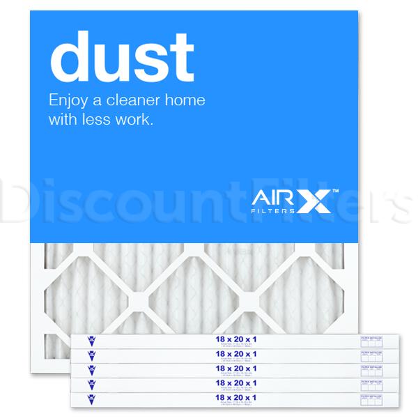 18x20x1 AIRx DUST Air Filter - MERV 8